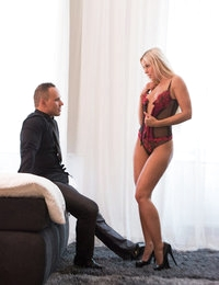 "Susie was booked for a solo fashion  shoot. As we all know Susie has been one of the most sought after Erotic models in the world! So recently when her naturally horny nature took over the ""fashion shoot"" turned naughty! She saw a man walk by and instantly decided she wanted to incorporate him in. With her perfect body and sweet face the man certainly wasn't going to say no."